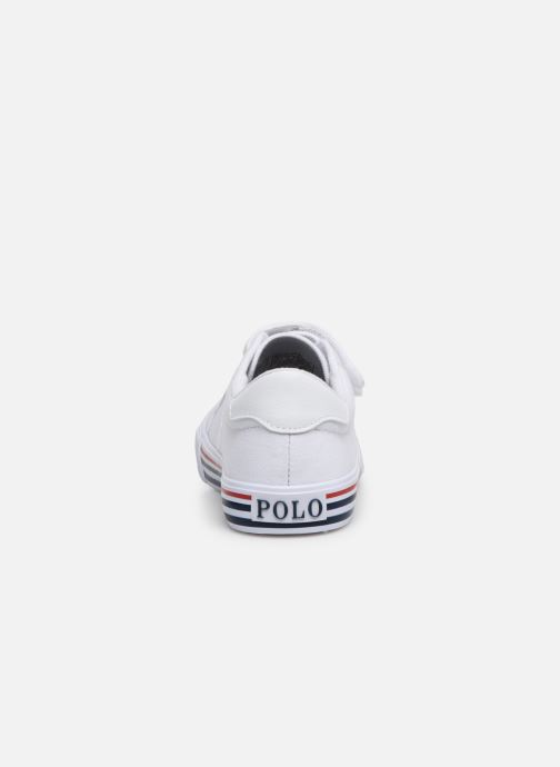 Sneakers Polo Ralph Lauren Edgewood EZ Wit rechts