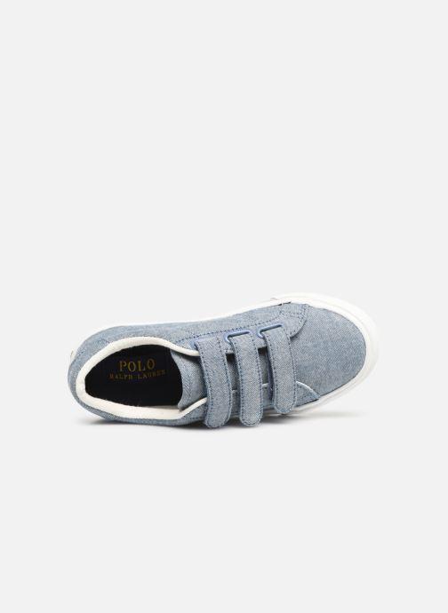 Sneakers Polo Ralph Lauren Edgewood EZ Blauw links