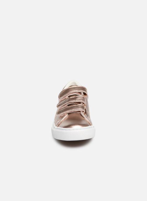 Baskets Polo Ralph Lauren Edgewood EZ Argent vue portées chaussures
