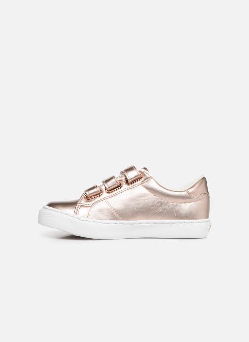 Sneakers Polo Ralph Lauren Edgewood EZ Zilver voorkant