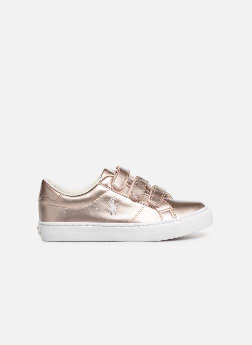 Sneakers Polo Ralph Lauren Edgewood EZ Zilver achterkant
