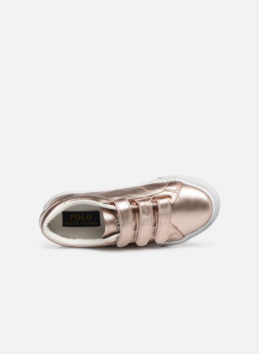 Sneakers Polo Ralph Lauren Edgewood EZ Zilver links