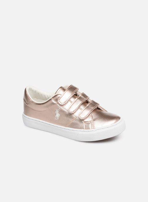 Sneakers Polo Ralph Lauren Edgewood EZ Zilver detail