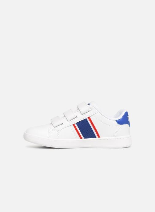 Baskets Polo Ralph Lauren Quigley EZ Blanc vue face