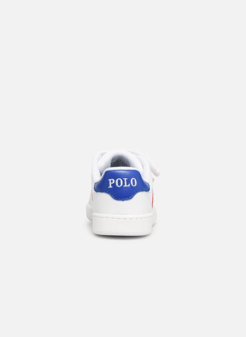 Sneakers Polo Ralph Lauren Quigley EZ Vit Bild från höger sidan