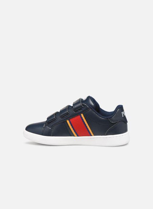 Sneakers Polo Ralph Lauren Quigley EZ Blauw voorkant