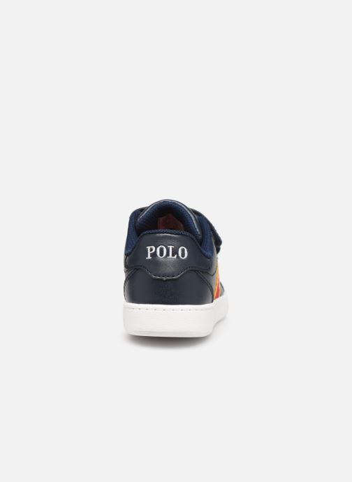 Sneakers Polo Ralph Lauren Quigley EZ Blauw rechts