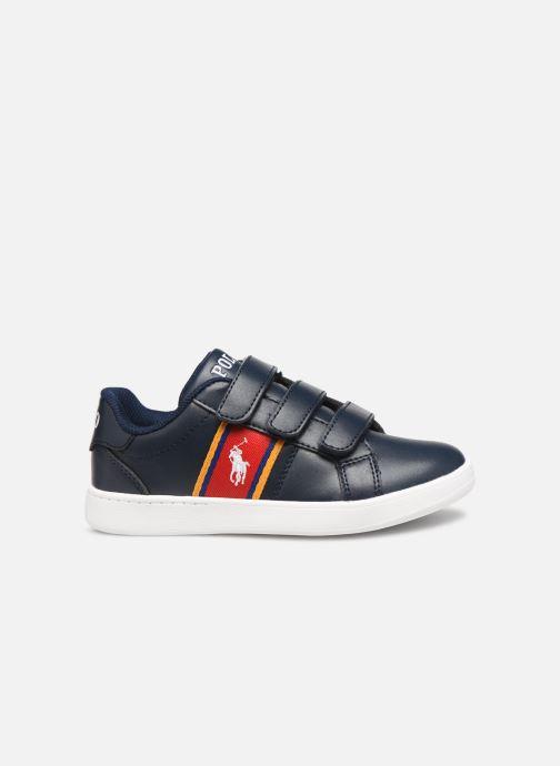 Sneakers Polo Ralph Lauren Quigley EZ Blauw achterkant
