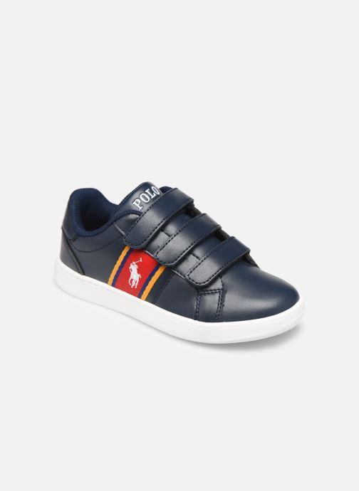 Sneakers Polo Ralph Lauren Quigley EZ Blauw detail