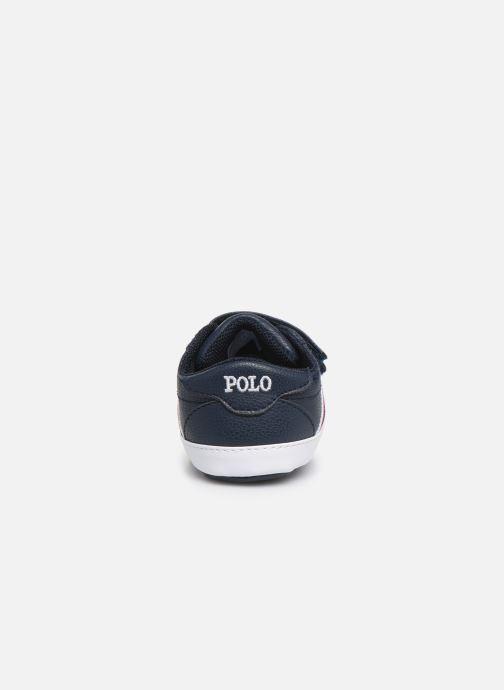 Baskets Polo Ralph Lauren Quigley EZ Bleu vue droite