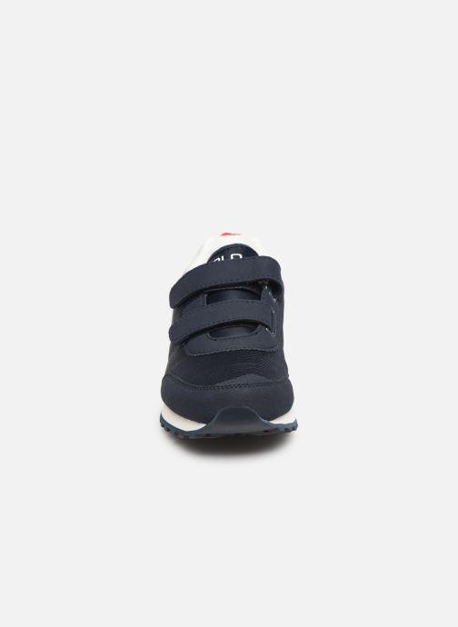 Baskets Polo Ralph Lauren Richardson EZ Bleu vue portées chaussures