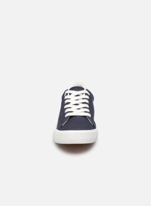 Baskets Polo Ralph Lauren Edgewood Bleu vue portées chaussures