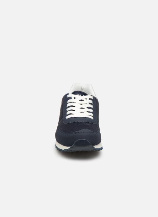 Baskets Polo Ralph Lauren Richardson Bleu vue portées chaussures