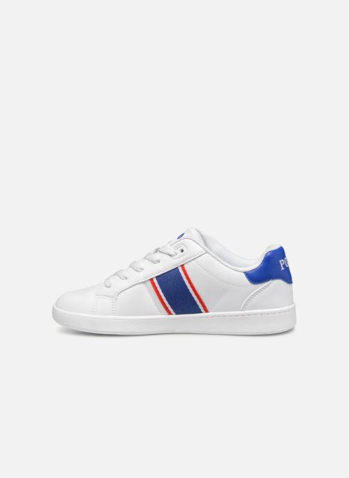 Sneakers Polo Ralph Lauren Quigley Wit voorkant
