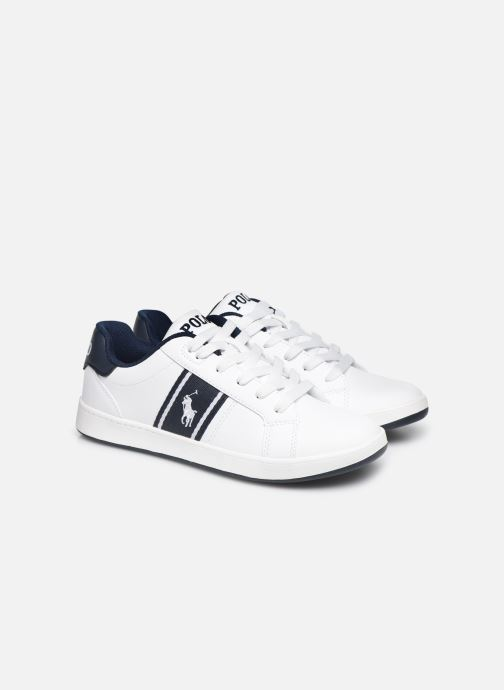 Sneakers Polo Ralph Lauren Quigley Wit 3/4'