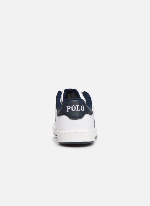 Sneakers Polo Ralph Lauren Quigley Wit rechts