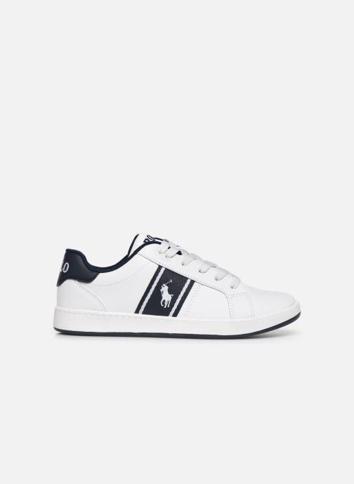 Sneakers Polo Ralph Lauren Quigley Wit achterkant