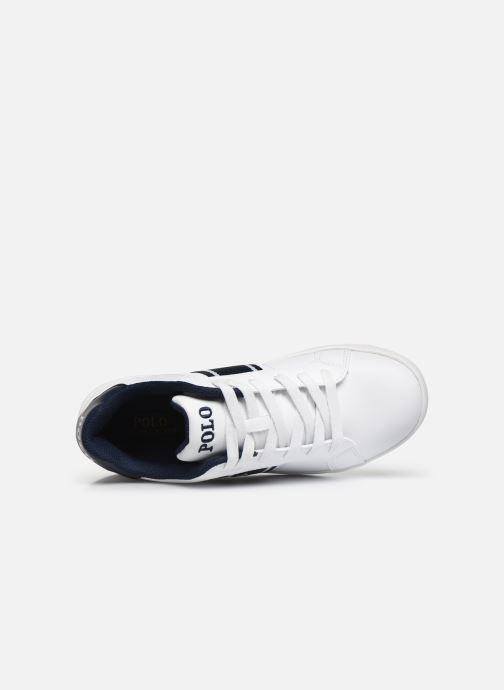 Sneaker Polo Ralph Lauren Quigley weiß ansicht von links