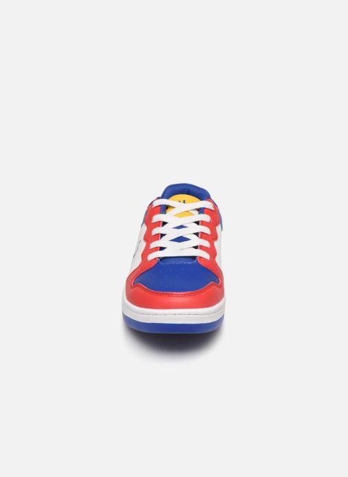Baskets Polo Ralph Lauren Jessup Multicolore vue portées chaussures
