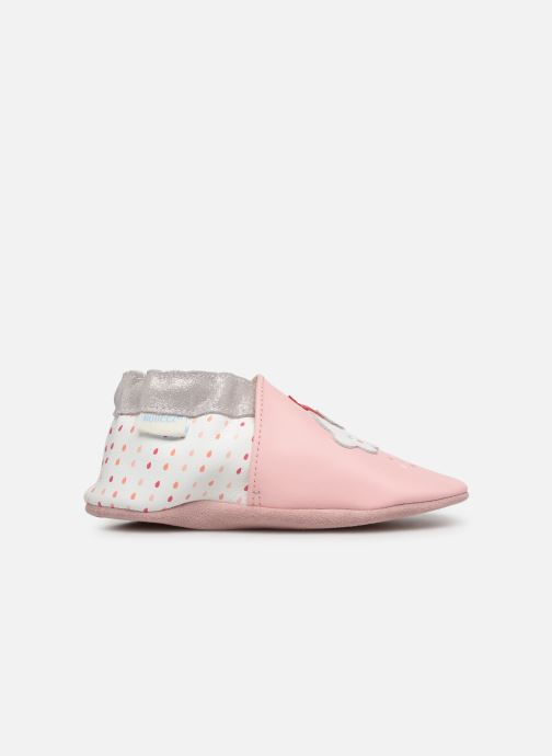 Pantoffels Robeez Cotton Cloud Roze achterkant