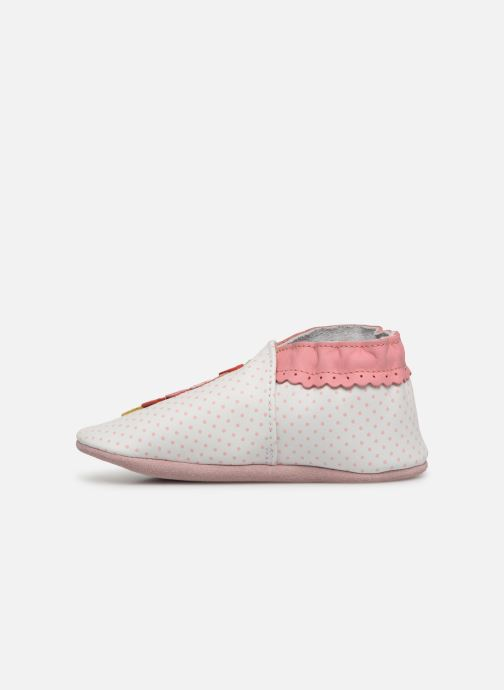 Chaussons Robeez Holiday's Ice Blanc vue face