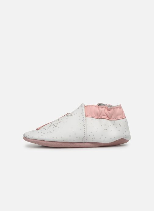 Chaussons Robeez Sweet Night Blanc vue face