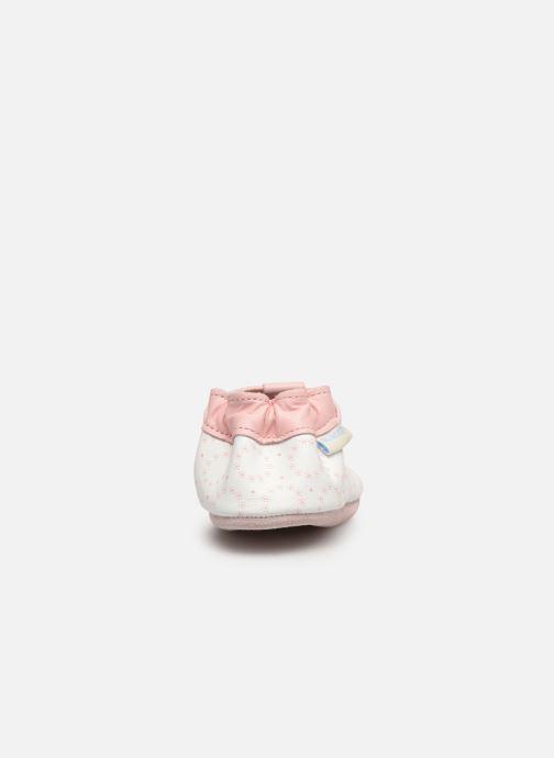 Chaussons Robeez Tiny Love Blanc vue droite