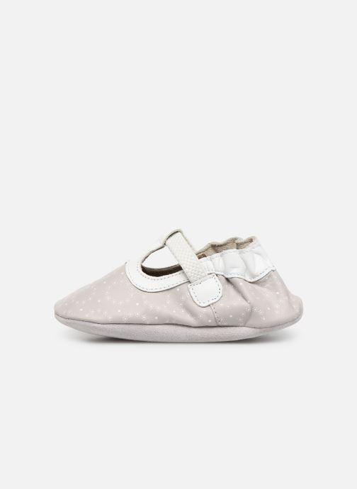 Pantofole Robeez Tiny Love Grigio immagine frontale