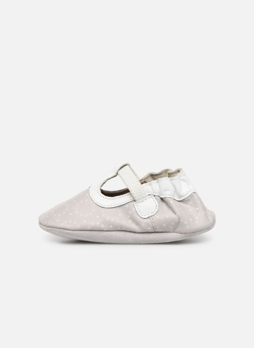 Slippers Robeez Tiny Love Grey front view