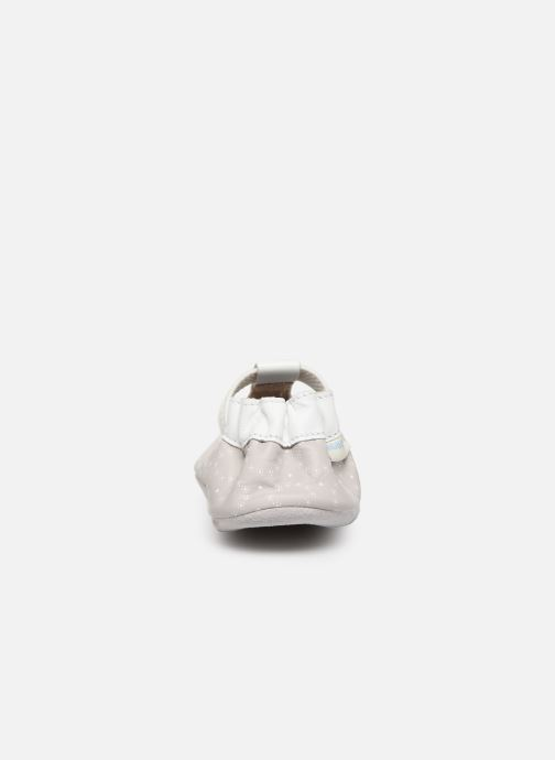 Pantofole Robeez Tiny Love Grigio immagine destra