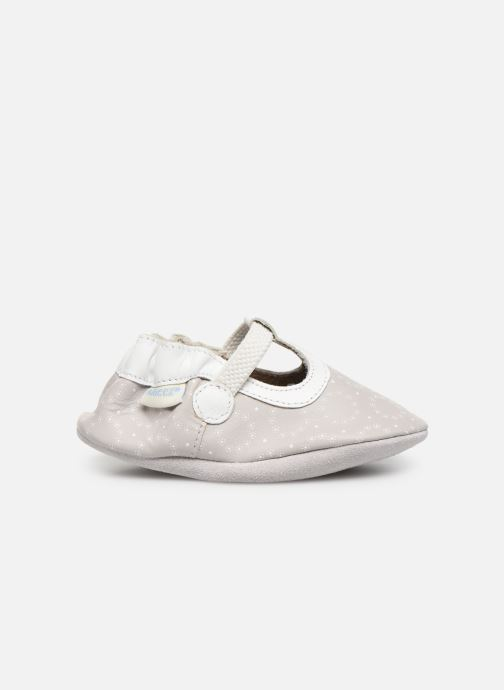 Pantofole Robeez Tiny Love Grigio immagine posteriore