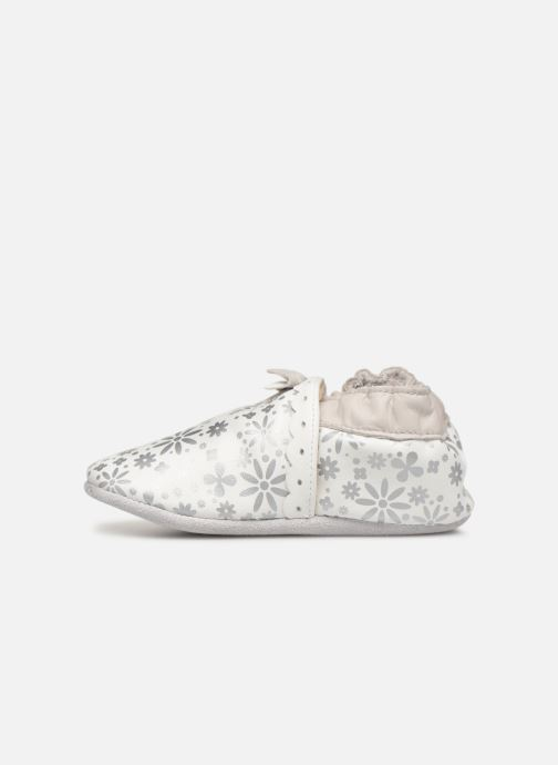 Chaussons Robeez Baby Girl Blanc vue face