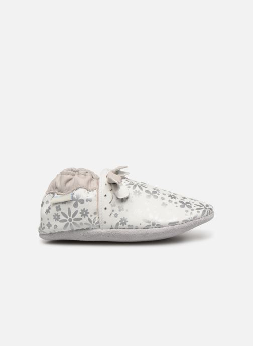 Chaussons Robeez Baby Girl Blanc vue derrière