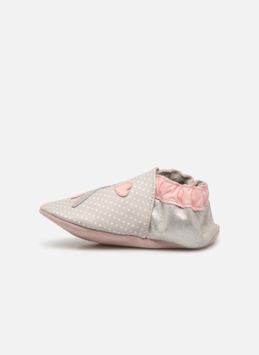 Chaussons Robeez Darnery Gris vue face
