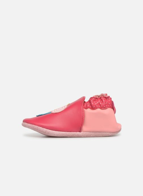 Chaussons Robeez Funny Sweets Rouge vue face