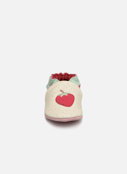 Chaussons Robeez With Love Blanc vue portées chaussures