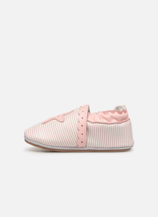 Chaussons Robeez Sunny Day Rose vue face