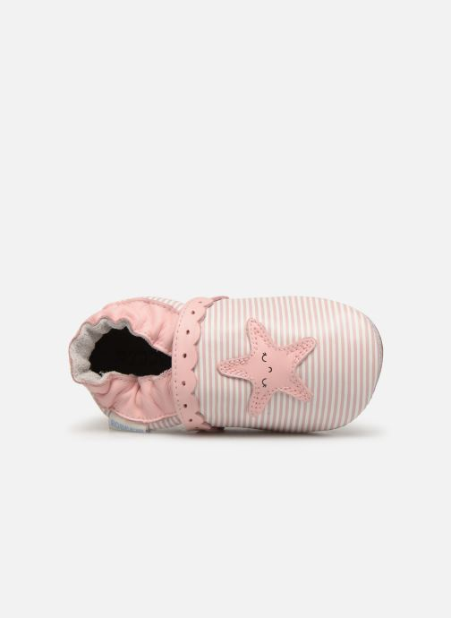 Chaussons Robeez Sunny Day Rose vue gauche