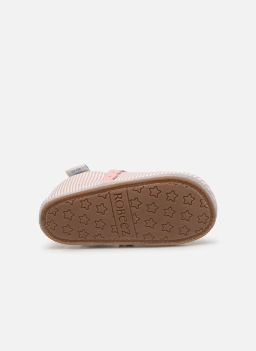 Chaussons Robeez Sunny Day Rose vue haut