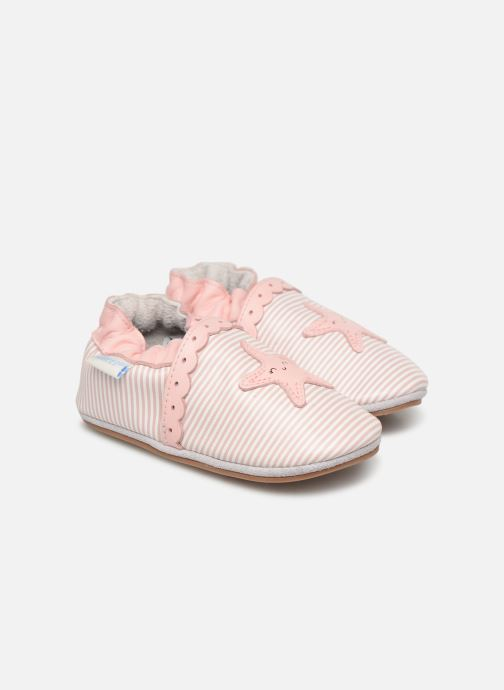 Pantoffels Robeez Sunny Day Roze detail