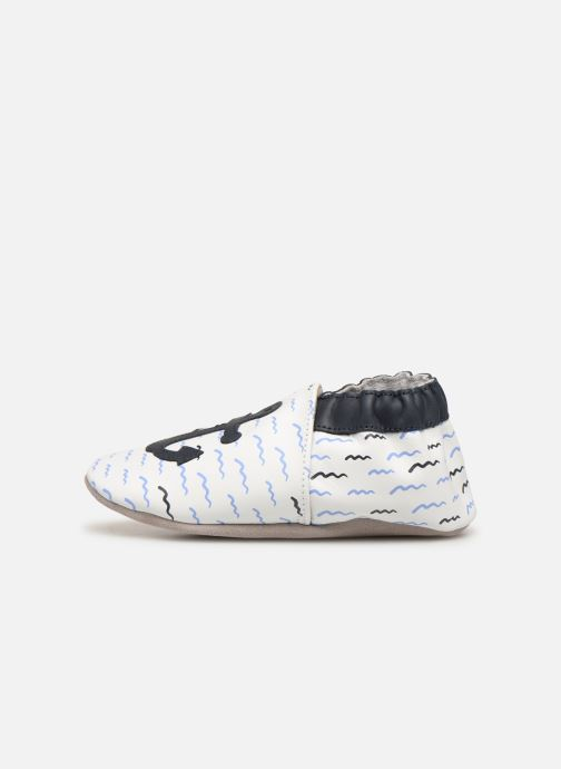 Chaussons Robeez On Board Blanc vue face