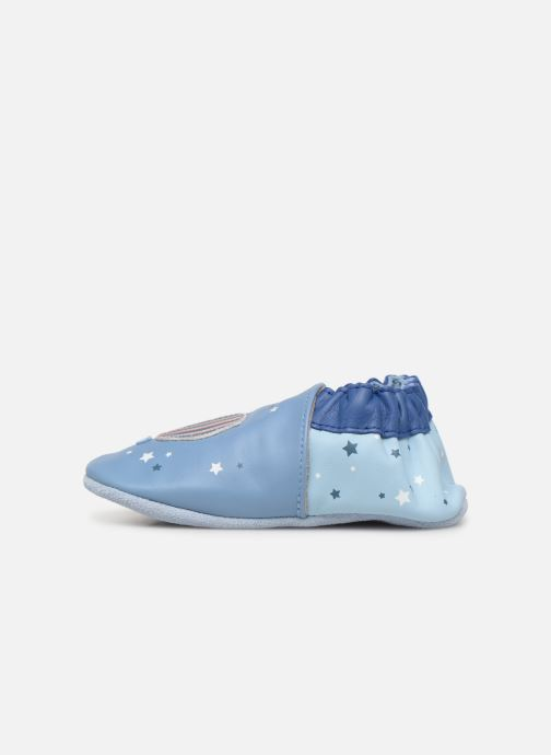 Chaussons Robeez Star Flight Bleu vue face