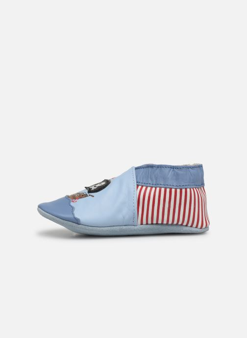Chaussons Robeez Pirate's Boat Bleu vue face