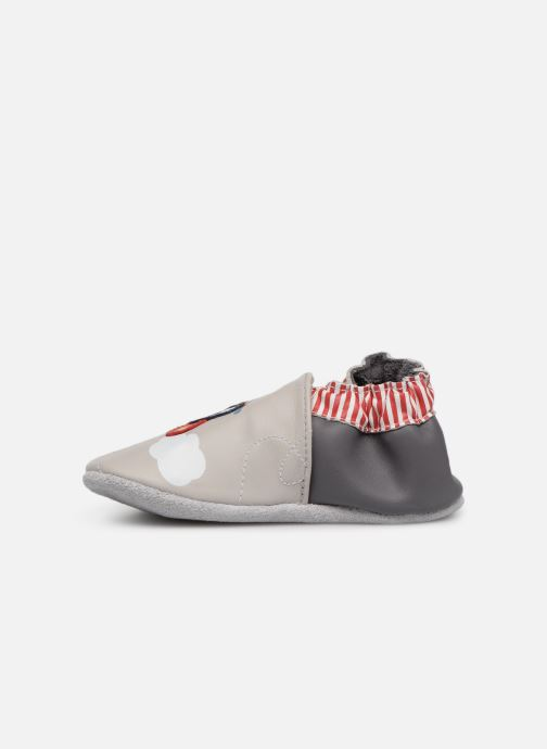 Chaussons Robeez Looping Gris vue face