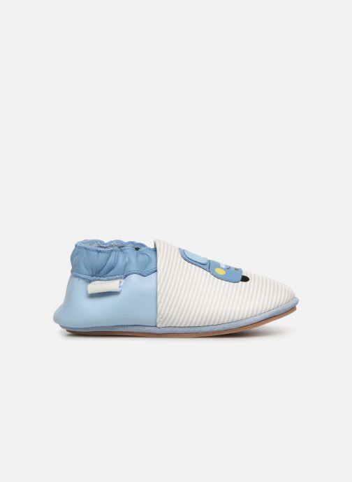 Slippers Robeez Tony White back view