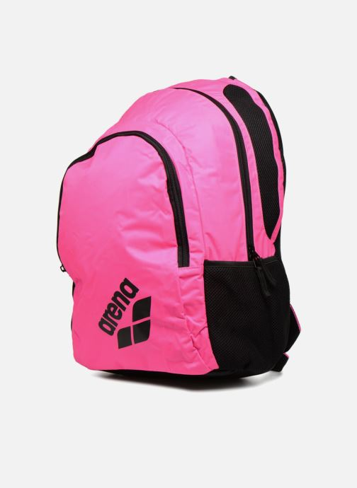 Sacs à dos Arena SPIKY 2 BACKPACK Rose vue portées chaussures