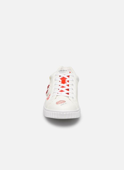 Sneakers Pepe jeans Taylor Prints Wit model