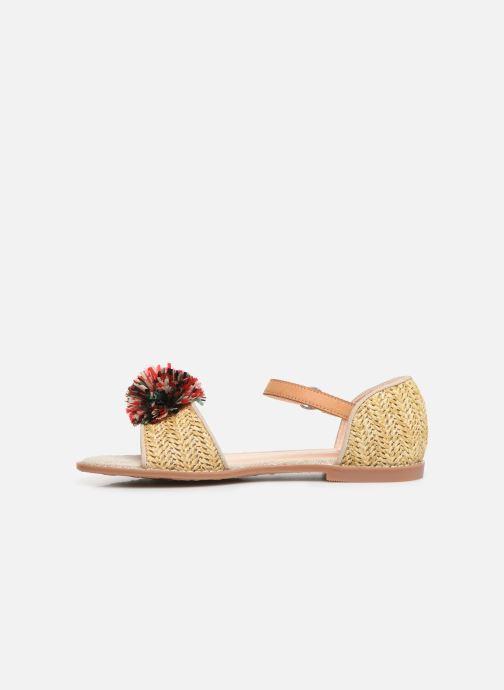 Sandales et nu-pieds Pepe jeans Elsa Rafia Beige vue face