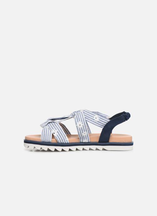 Sandales et nu-pieds Pepe jeans Zoe Flowers Bleu vue face