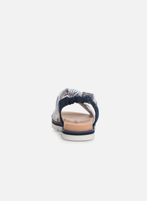 Sandales et nu-pieds Pepe jeans Zoe Flowers Bleu vue droite